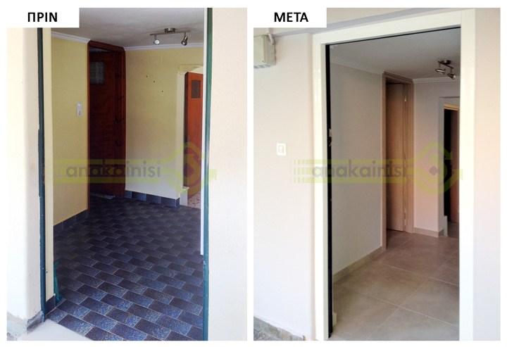 Ανακαίνιση σπιτιού στη Ραφήνα - Α 80